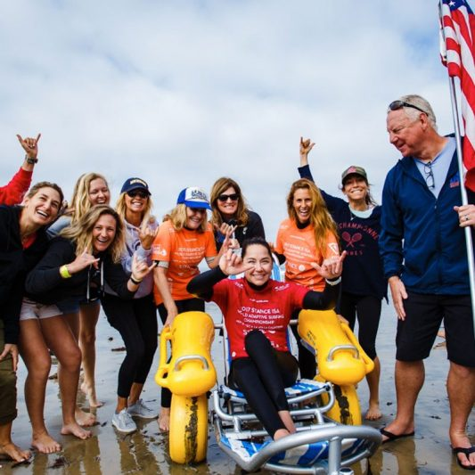 Beach Trax ISA adaptive surfing gallery 1