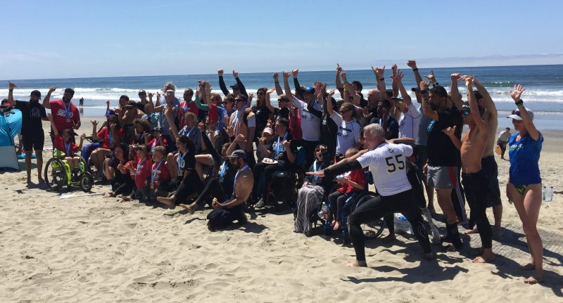 Junior Seau Foundation Adaptive Surfing Program