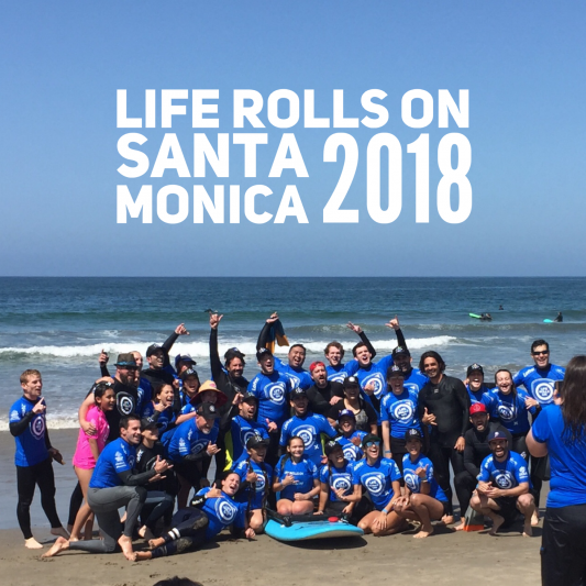 Life Rolls On Event in Santa Monica
