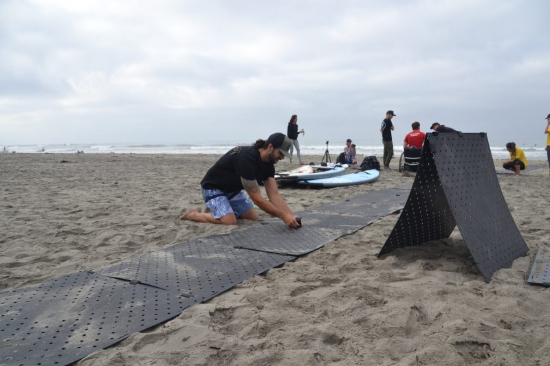 How Foldable Beach Mats Work