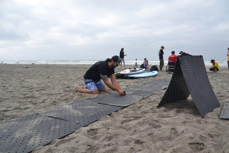 How Foldable Beach Mats Work