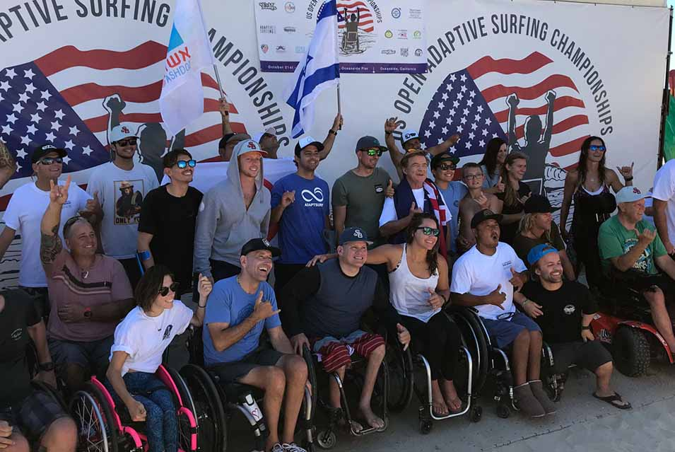Beach Trax US Open Adaptive Surfing Championship