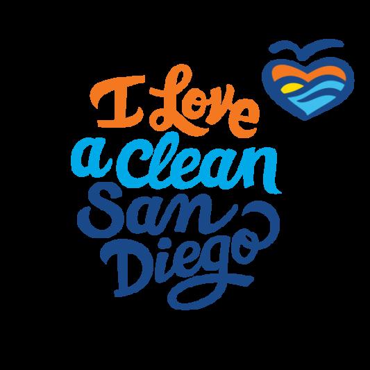 I Love a Clean San Diego Logo