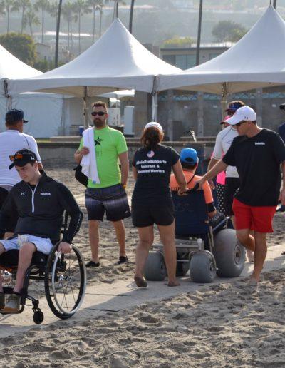 Beach Trax works well for manual, beach & electric wheelchairs.